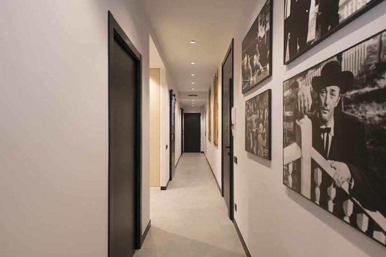 Квартира лофт коридор