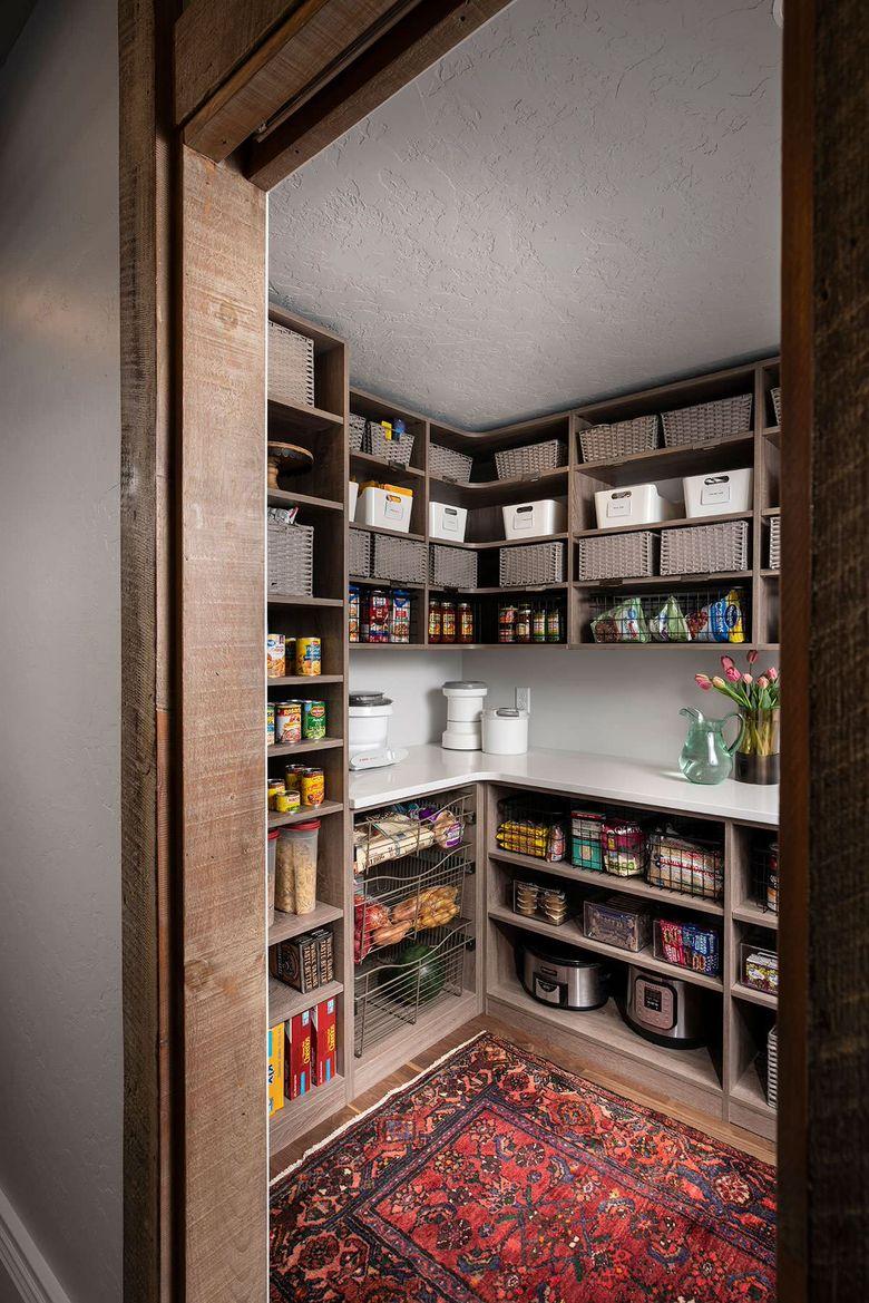 Стили кухни место для новой кладовой