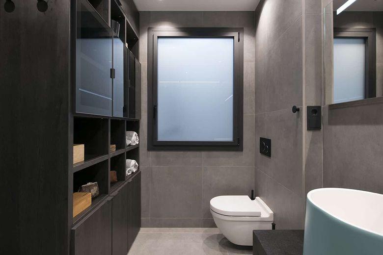Квартира лофт туалет