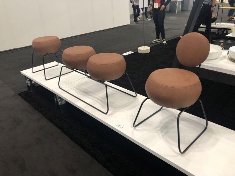 Интересная мебель обтекаемые скамья табурет стул