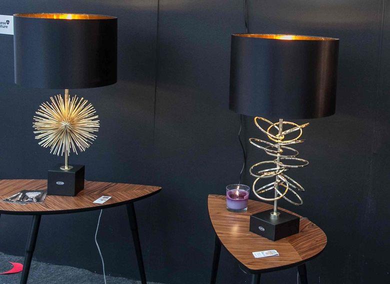 Настольная лампа лофт Gossip Chic и Aureas