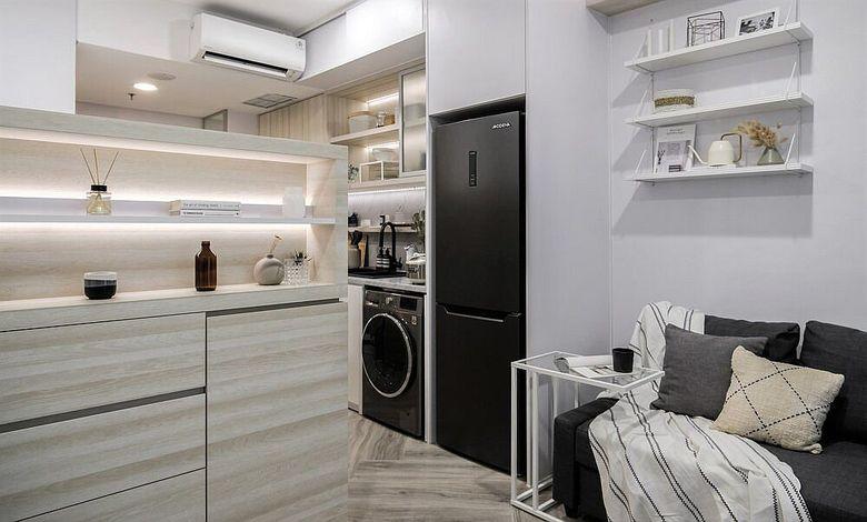 Дизайн маленькой квартиры ниши под технику