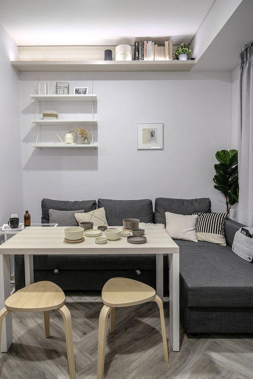Дизайн маленькой квартиры стол