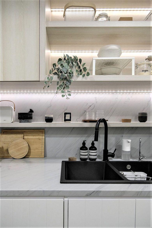 Дизайн маленькой квартиры подстветка