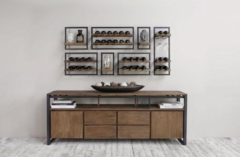Винный стеллаж шкаф Rossiter