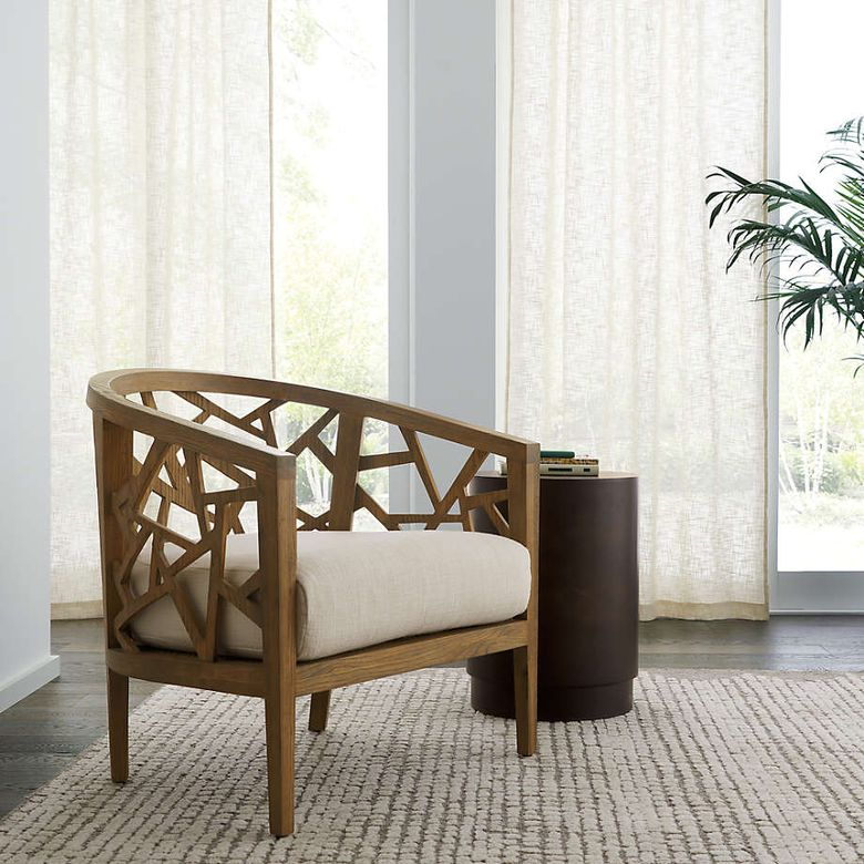 Кресла для гостиной с резьбой ручной работы
