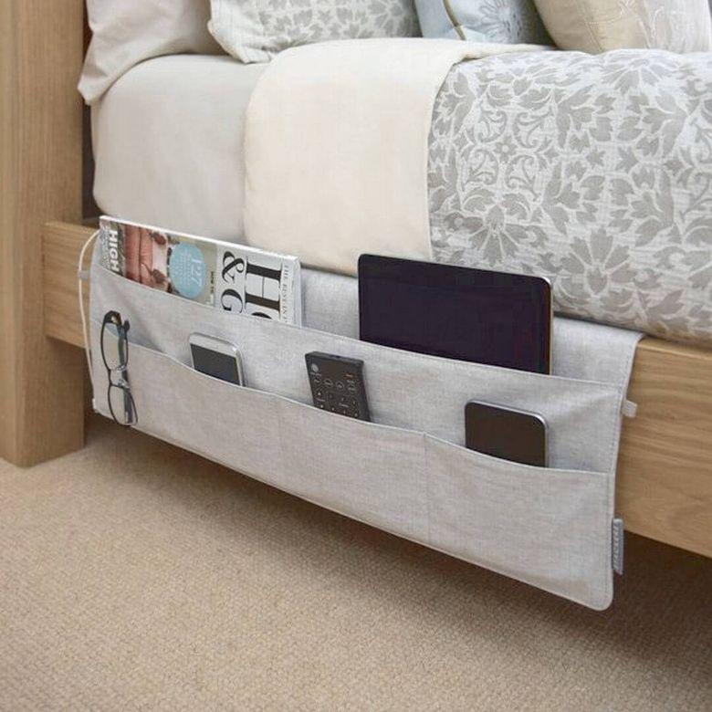 Идеи для спальни держатель с карманами