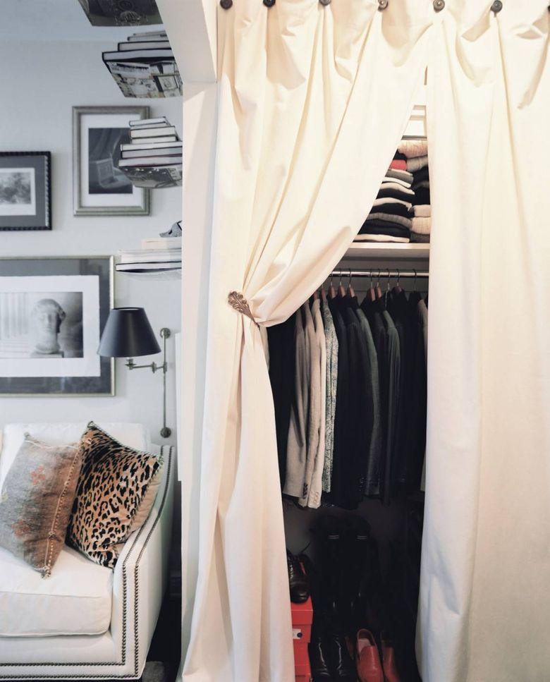 Идеи для спальни для хранения одежды