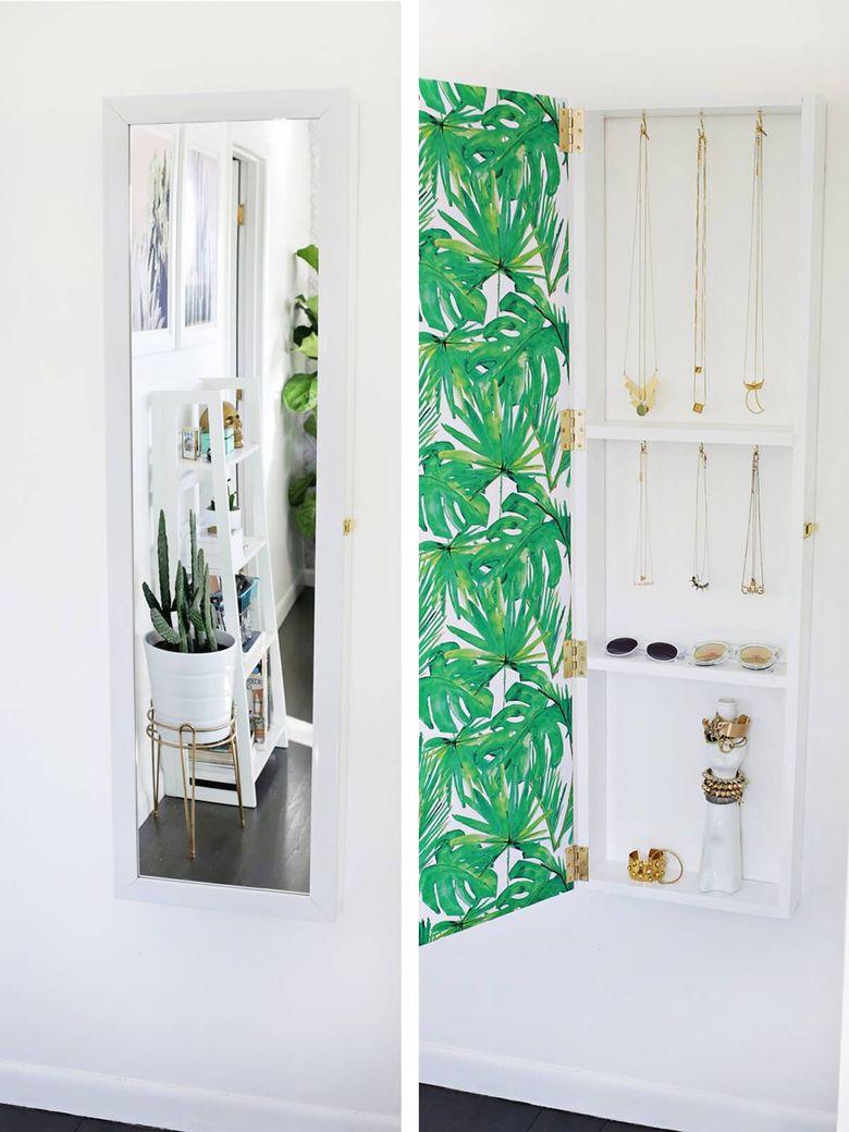 Идеи для спальни зеркальный шкаф